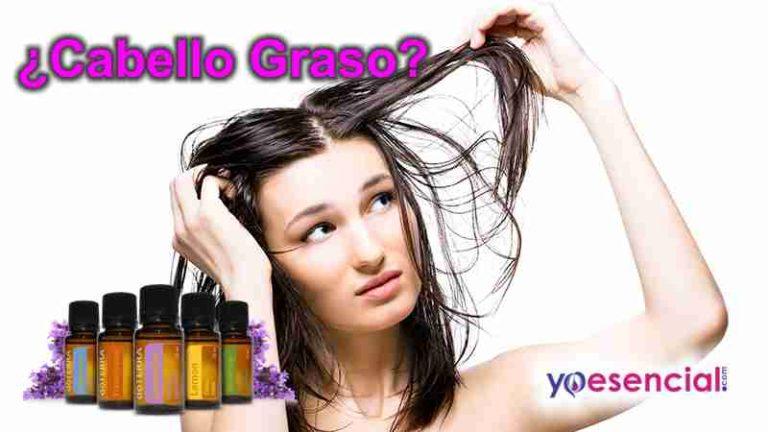cabello graso aceites esenciales
